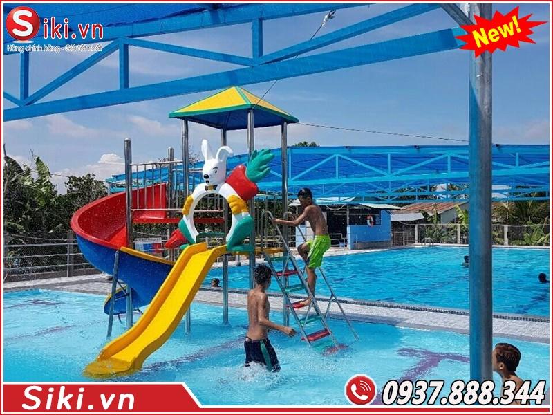Cầu trượt hồ bơi trẻ em được dùng cho trẻ em bao nhiêu tuổi?